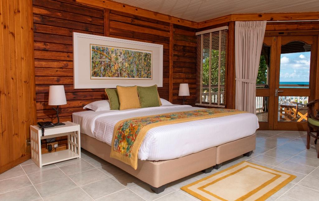 Acajou Beach Resort Praslins Green Hotel In The Seychelles